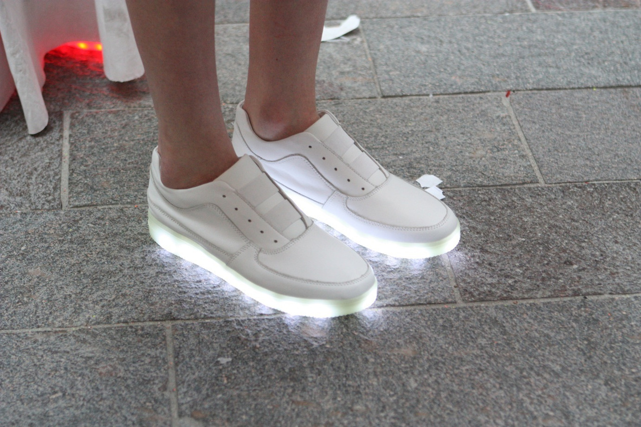 some more light up sneakers